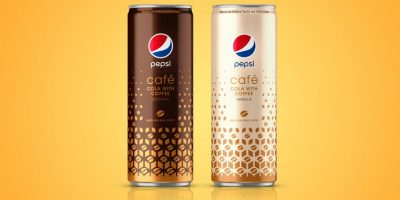 Pepsi Café Classic and Vanilla Can